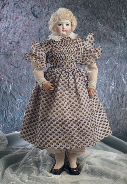 Lady Dolls Of The 19th Century 39 French Bisque Poupee By