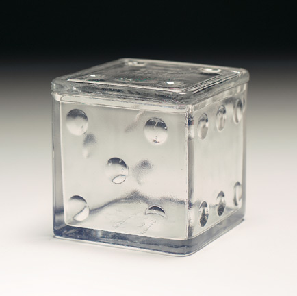 American Glass Candy Containers 311 Dice