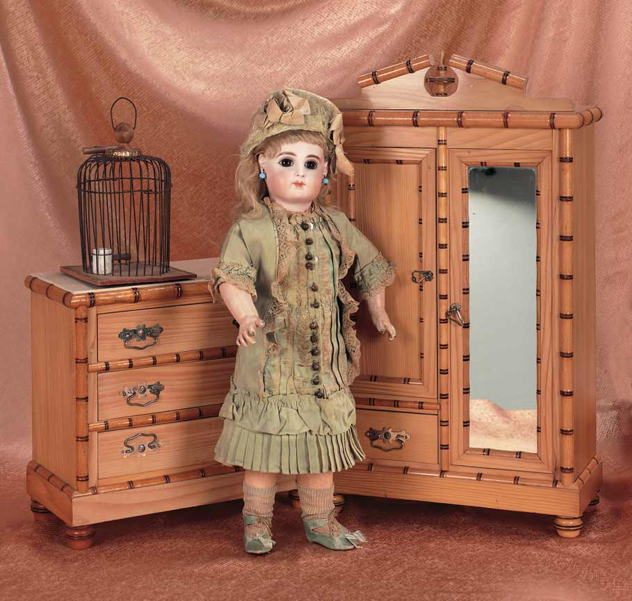 Rare French Doll Furniture with Maker's Mark of Collet - Theriault's