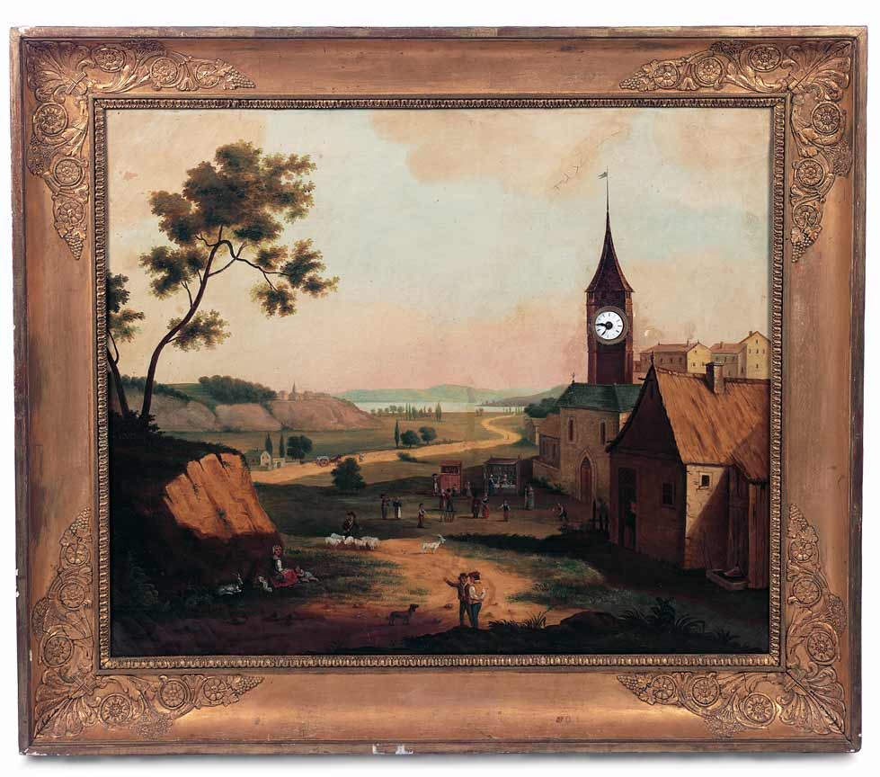 When The Circus Came To Town 181 French Oil Painting With
