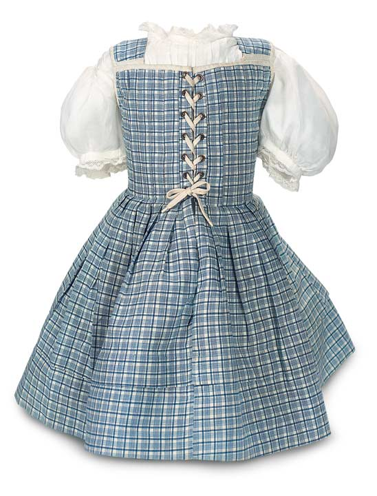 The Ties that Bind: 253 Blue and White Checkered Cotton Dress with ...
