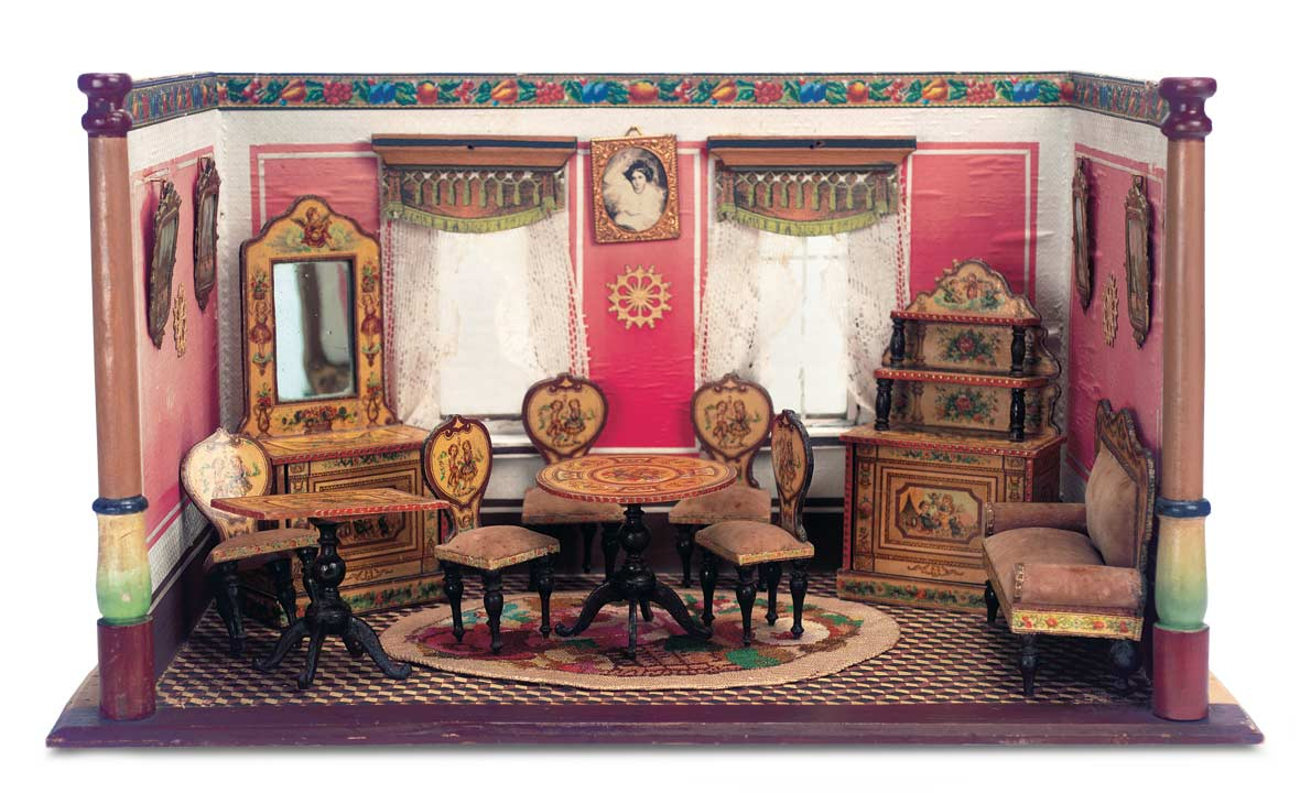 Echoes Of Remembered Rooms Volume I 34 Charming Petite Dollhouse