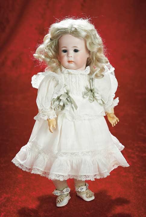 German Dolls & Bears Antique K*r 117n Simon & Halbig Kammer & Reinhardt Mein Liebling Bisque Child