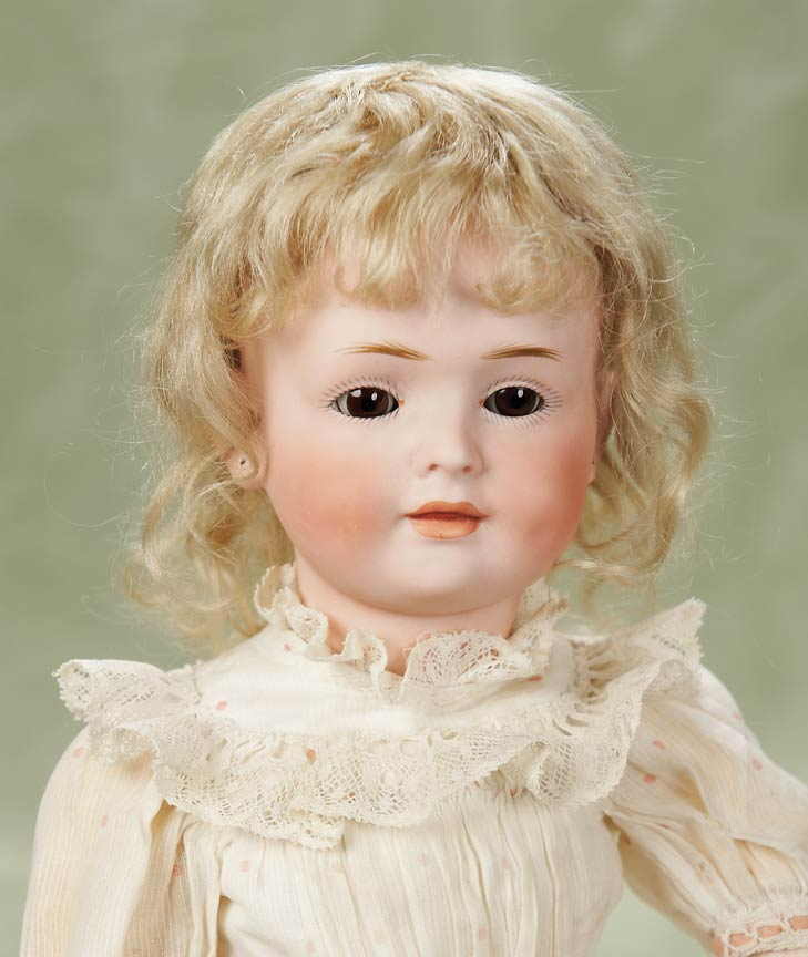 Other People's Lives: 307 German Bisque Glass-Eyed Character