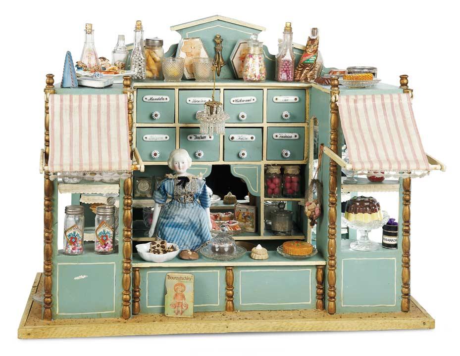 De Kleine Wereld Museum Of Lier 118 German Wooden Candy