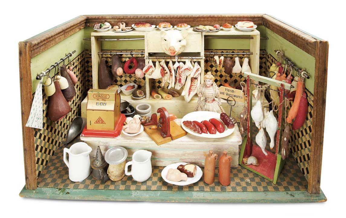 De Kleine Wereld Museum Of Lier 250 German Wooden Butcher