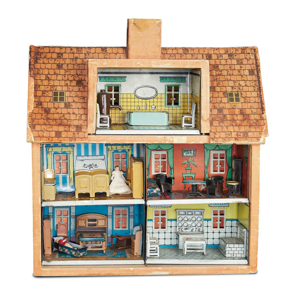Home At Last Antique Doll And Dollhouses 301 German Wooden