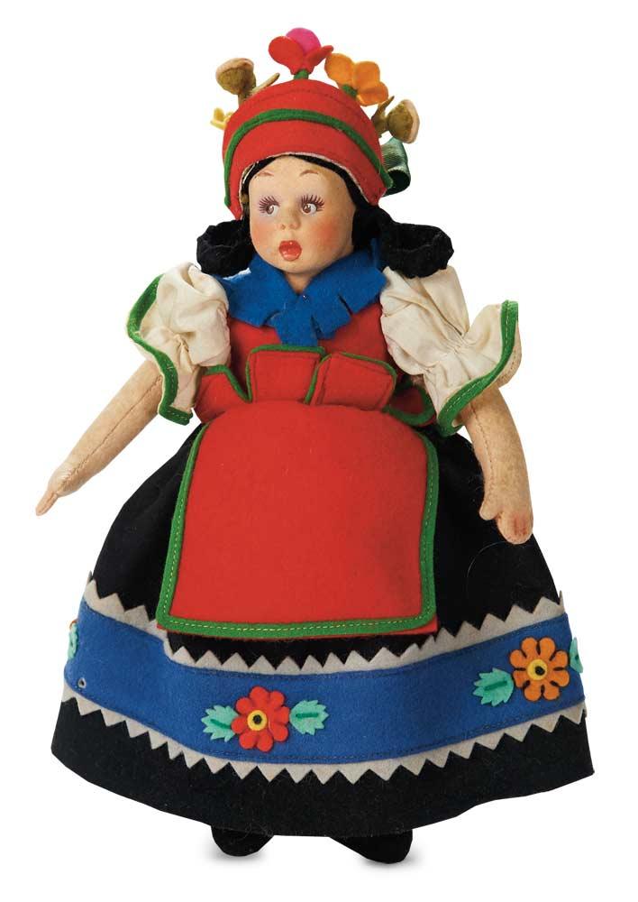 Apples An Auction Of Antique Dolls 152 Italian Felt