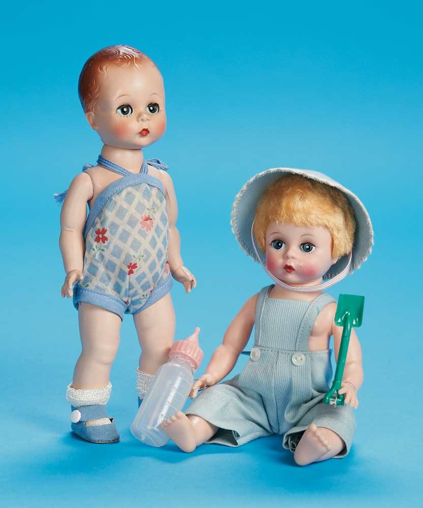 The Fabulous Fifties Modern Dolls 172 Quiz Kin In Blue Cotton
