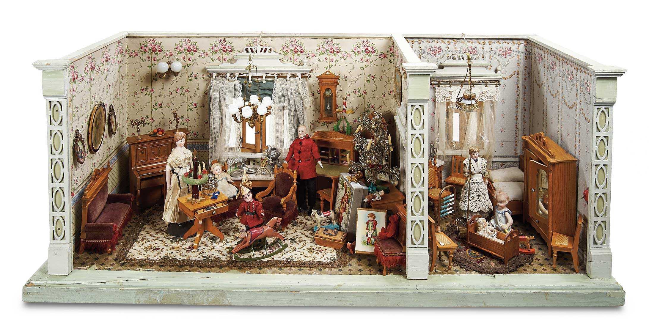 Home At Last Antique Doll And Dollhouses 98 Lavishly