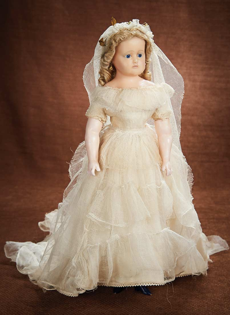 At Play in a Field of Dolls (Part 1 of 2-Vol set): 164 German Wax ...
