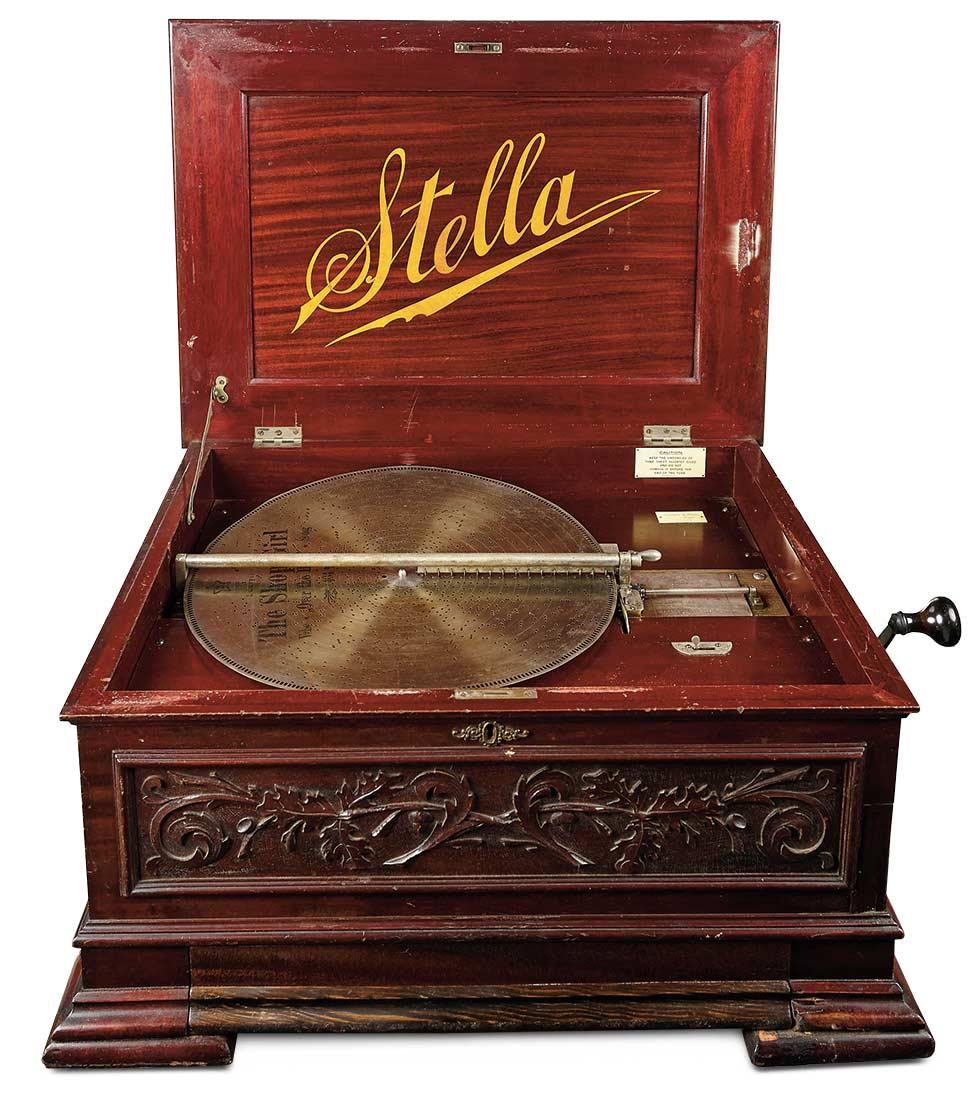 Swiss Disc Music Box Stella Grand By Mermod Freres