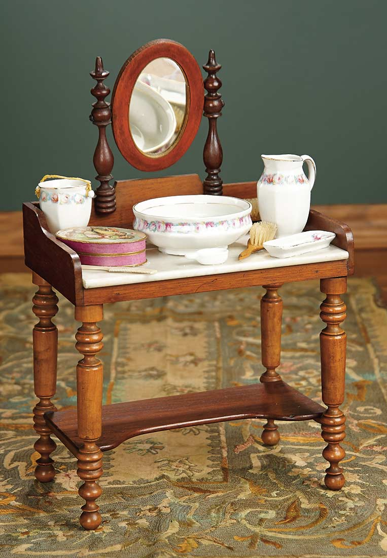 For The Love Of The Ladies 396 French Marbletop Toilette