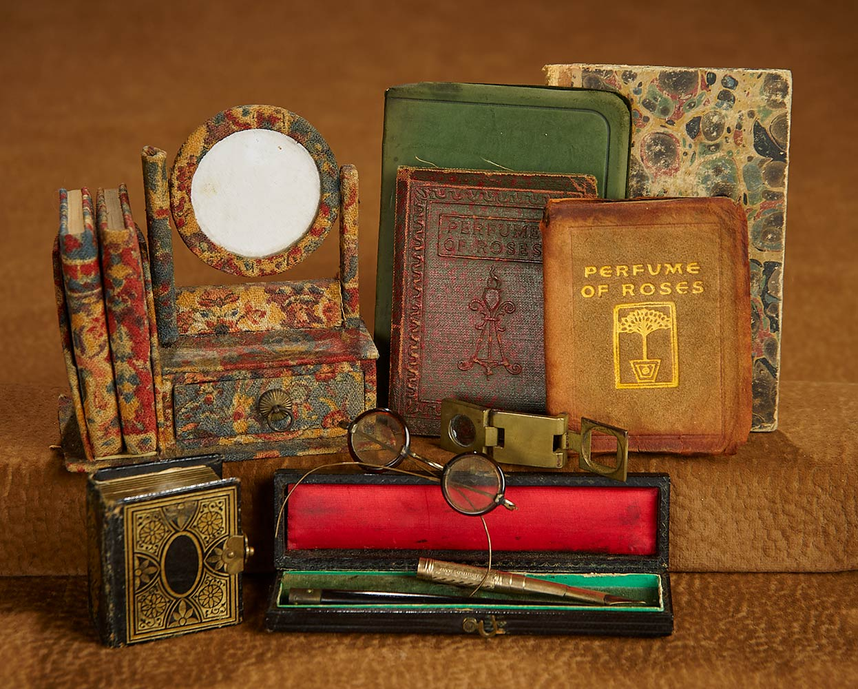 Bittersweet: 225 Collection of Miniature Books and Accessories