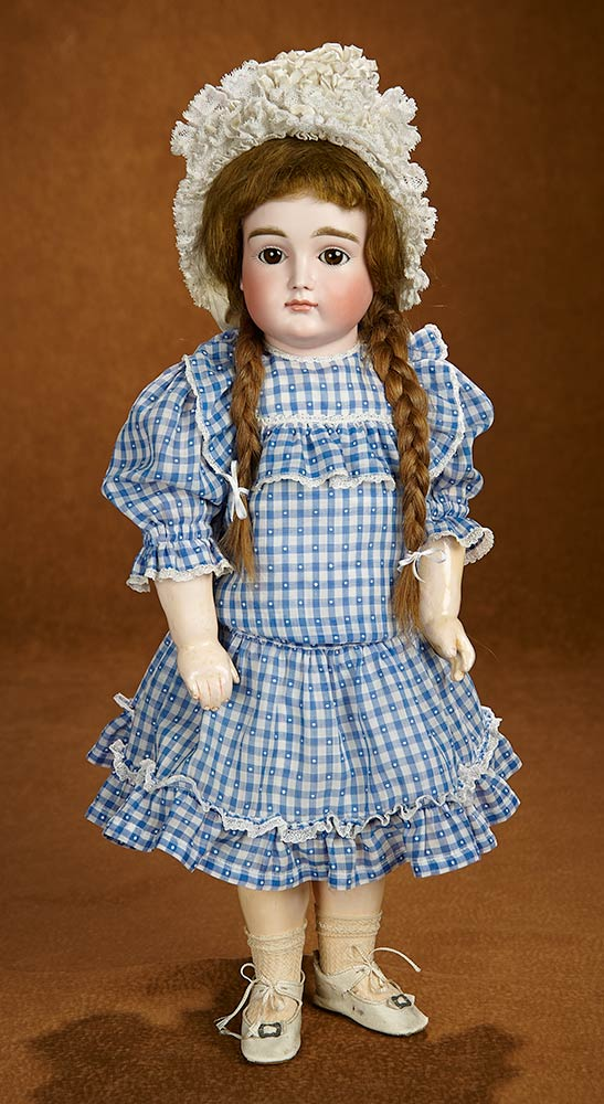 3bcac4606c7 Tears for Mina: 195 Pretty German Bisque Closed Mouth Doll by Kestner