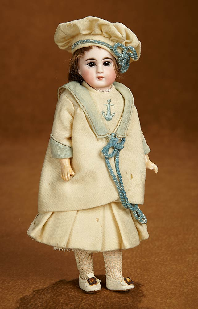 c7c00a173ed Tears for Mina: 204 Petite Sonneberg Bisque Doll in Original Mariner ...