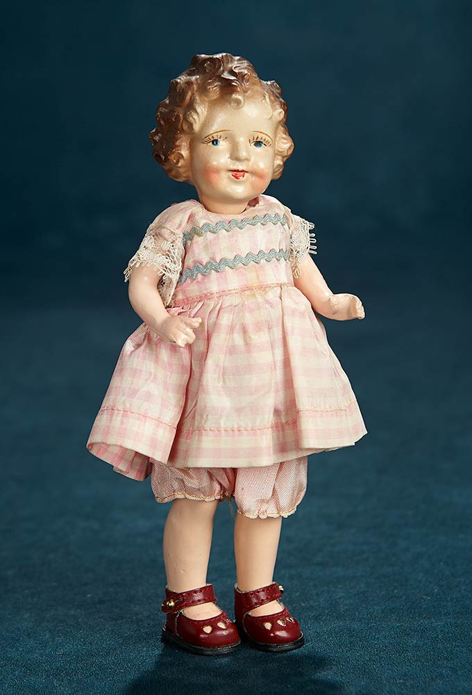 32e9edb526fd Petite Composition Shirley Temple Look-Alike Doll