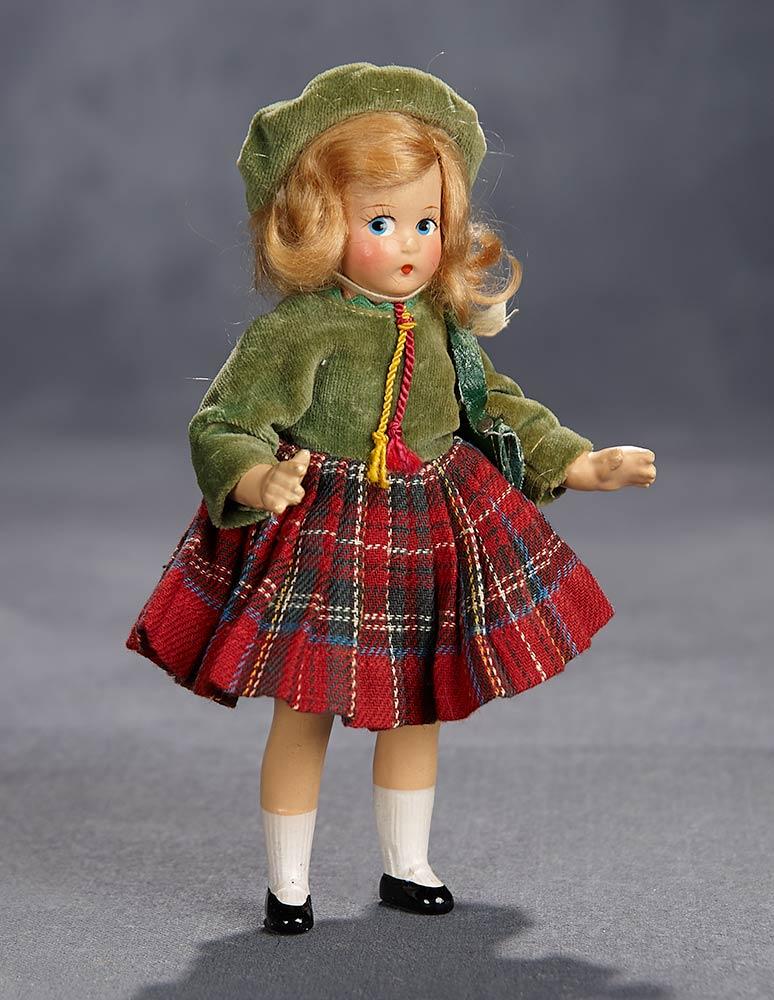 "Madame Alexander 5/"" Tiny Betty Happy Birthday Doll"