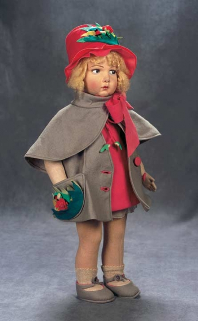 The Great Man S Doll 104 Italian Cloth Character Girl In