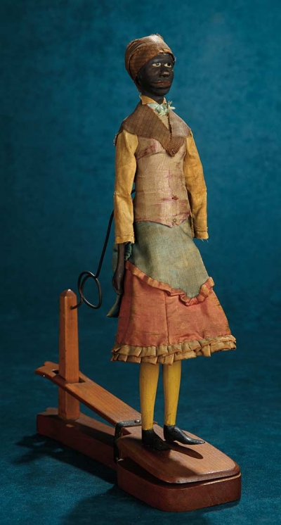 Forever Young: 11 Early American Folk Wooden Dancing Doll