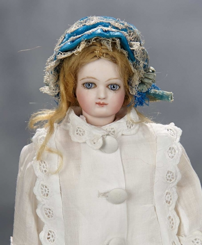 Expressions 203 Very Beautiful French Bisque Poupee By Jumeau